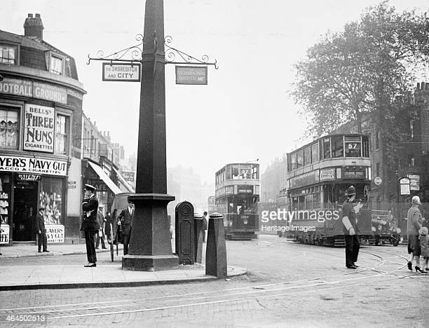 Cambridge Heath Road Hackney London 1930 Now in the borough of Tower Hamlets