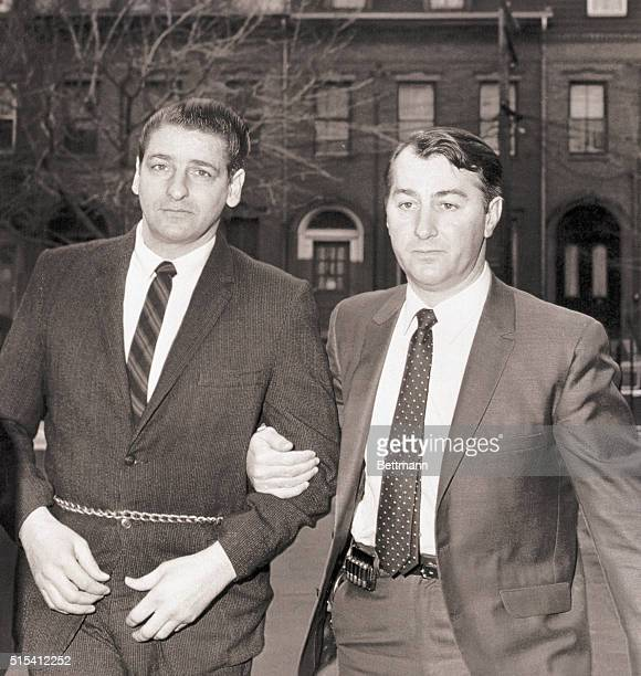 1/31/1968 Cambridge MA Albert H De Salvo selfprofessed Boston Strangler is escorted into Middlesex County Superior Court Jan 31st where a stay of...