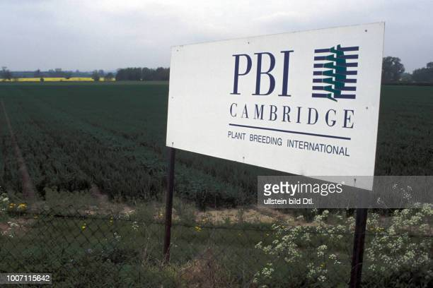 AGRICULTURAL RESEARCH UK Cambridge PBI artificial seed experimental station CDREF00154