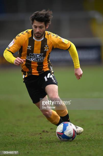 Cambridge player Wes Hoolahan in action during the Sky Bet League Two match between Carlisle United and Cambridge United at Brunton Park on March 27,...