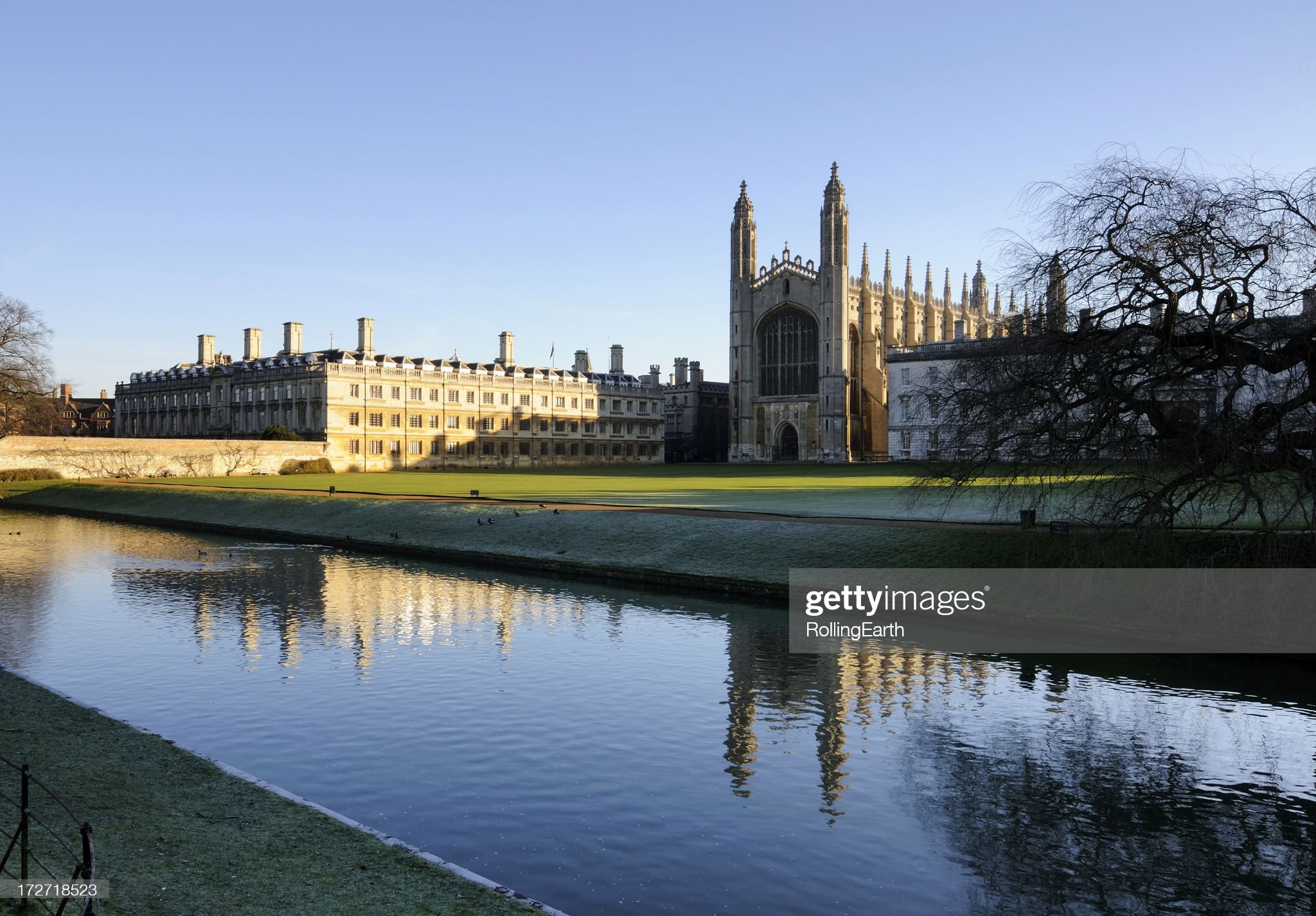 Cambridge University : Stock Photo