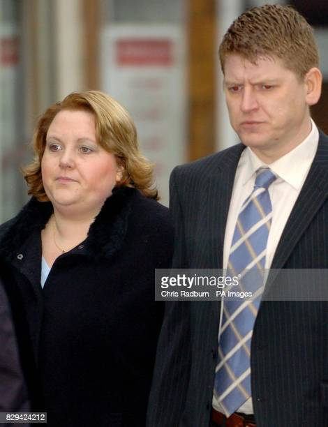 Cambridgeshire Policeman Denis Beeton alongside his wife Lisa at Luton Crown court Beeton faces three counts of Indecent Assult and two counts of...