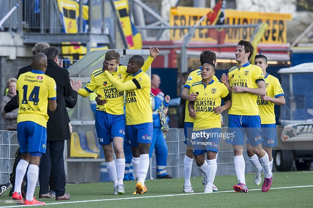 Sc Cambuur Leeuwarden Celebrates The Goal Of Sebastian Steblecki Of News Photo Getty Images