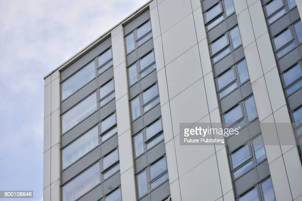 Camden council is to immediately remove cladding from the Adelaide Road estate after the Grenfell Tower fire on June 23 2017 in London England...
