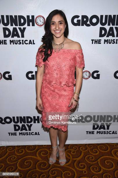 """Camden Gonzales attends the """"Groundhog Day"""" Broadway Opening Night at Gotham Hall on April 17, 2017 in New York City."""
