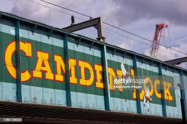 カムデンロック(ロンドン)のカムデン - カムデンロック ストックフォトと画像