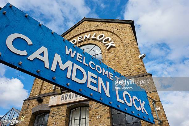 camden lock market in london - camden london stock pictures, royalty-free photos & images