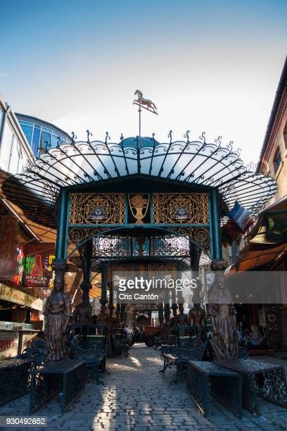 camden stables market - camden london stock pictures, royalty-free photos & images