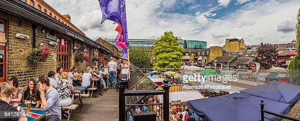 Camden Town, view of Camden Lock Market