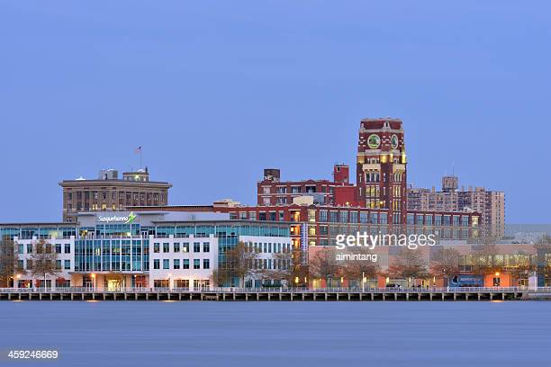 camden waterfront - new jersey stock pictures, royalty-free photos & images