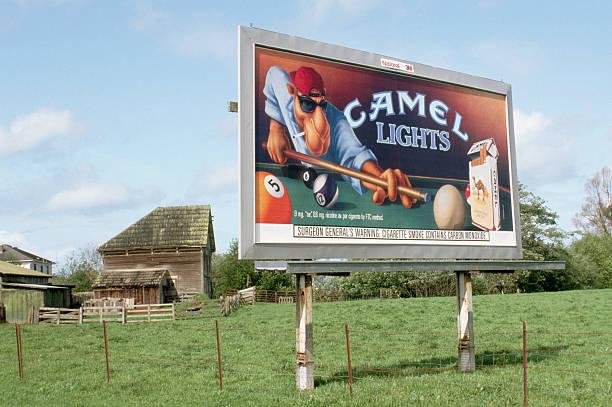 Camel Cigarette Advertisement on a Billboard