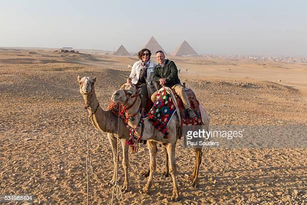 Camel Ride near Pyramids, Cairo, Egypt