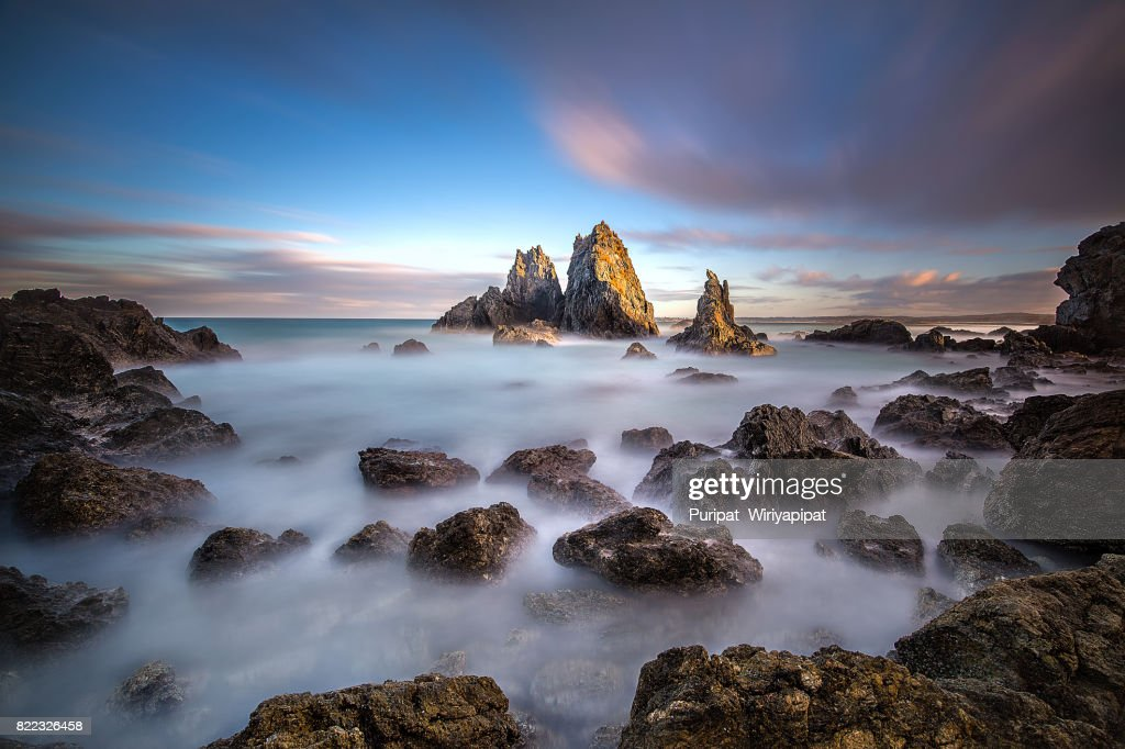 Camel rock, Bermagui, Australia : Stock Photo