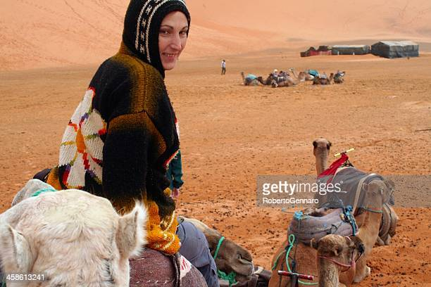 Camel tour in Morocco