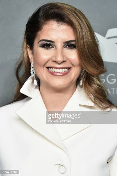 Camelia Entekhabifard attends the 2017 Guggenheim International Gala PreParty made possible by Dior on November 15 2017 in New York City