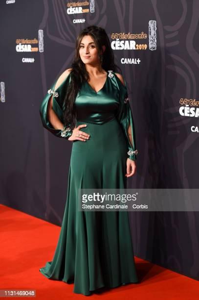 Camelia Jordana attend the Cesar Film Awards 2019 the Cesar Film Awards 2019 at Salle Pleyel on February 22, 2019 in Paris, France.