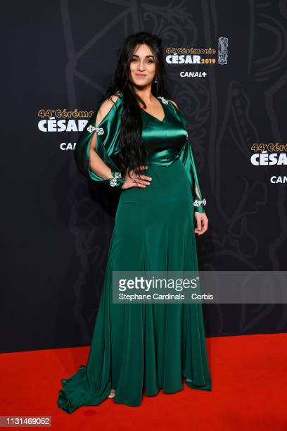 Camelia Jordana attend the Cesar Film Awards 2019 the Cesar Film Awards 2019 at Salle Pleyel on February 22 2019 in Paris France