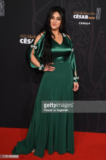 Camelia Jordana attends Cesar Film Awards 2019 at Salle Pleyel on February 22 2019 in Paris France