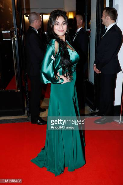 Camelia Jordana attends the Cesar Film Awards 2019 at Salle Pleyel on February 22, 2019 in Paris, France.