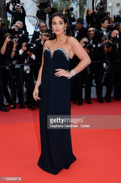 Camelia Jordana attends the screening of Le Belle Epoque during the 72nd annual Cannes Film Festival on May 20 2019 in Cannes France