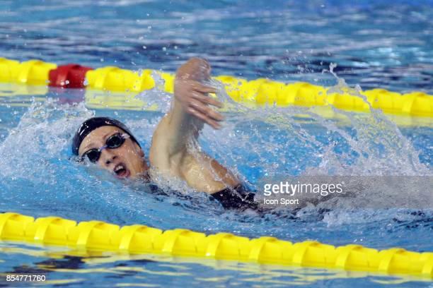 Camelia POTEC 800m nage libre Championnats de France 2009 Piscine Antigone Montpellier