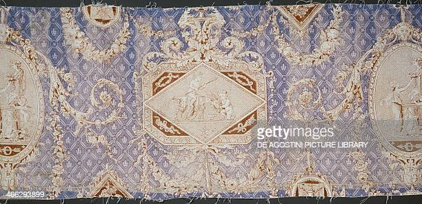 Cameo fabric with depictions from classical mythology JeanBaptiste Huet 19th century