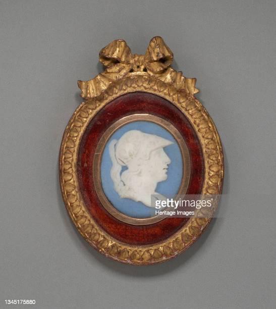 Cameo with Minerva, Burslem, Late 18th century. Artist Wedgwood.