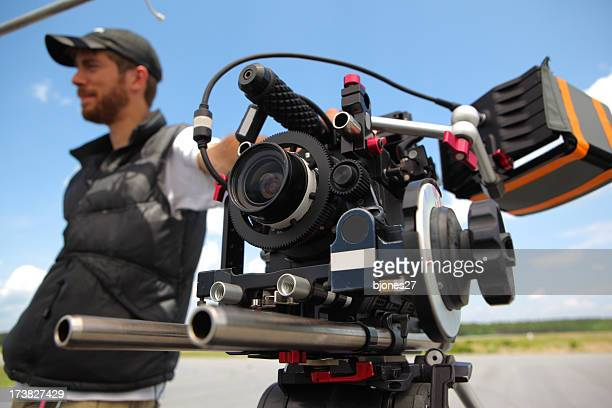 hd カメラ、dp - 映画監督 ストックフォトと画像