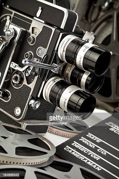 Camera and Film Projector