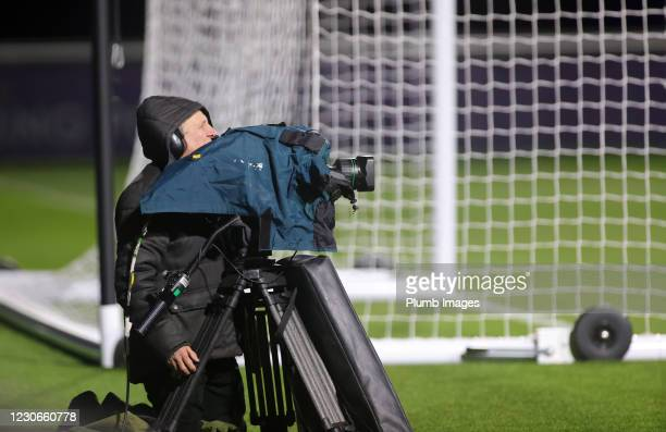 Camera at Leicester City Training Ground during the Premier League 2 match between Leicester City and Manchester United at Leicester City Training...