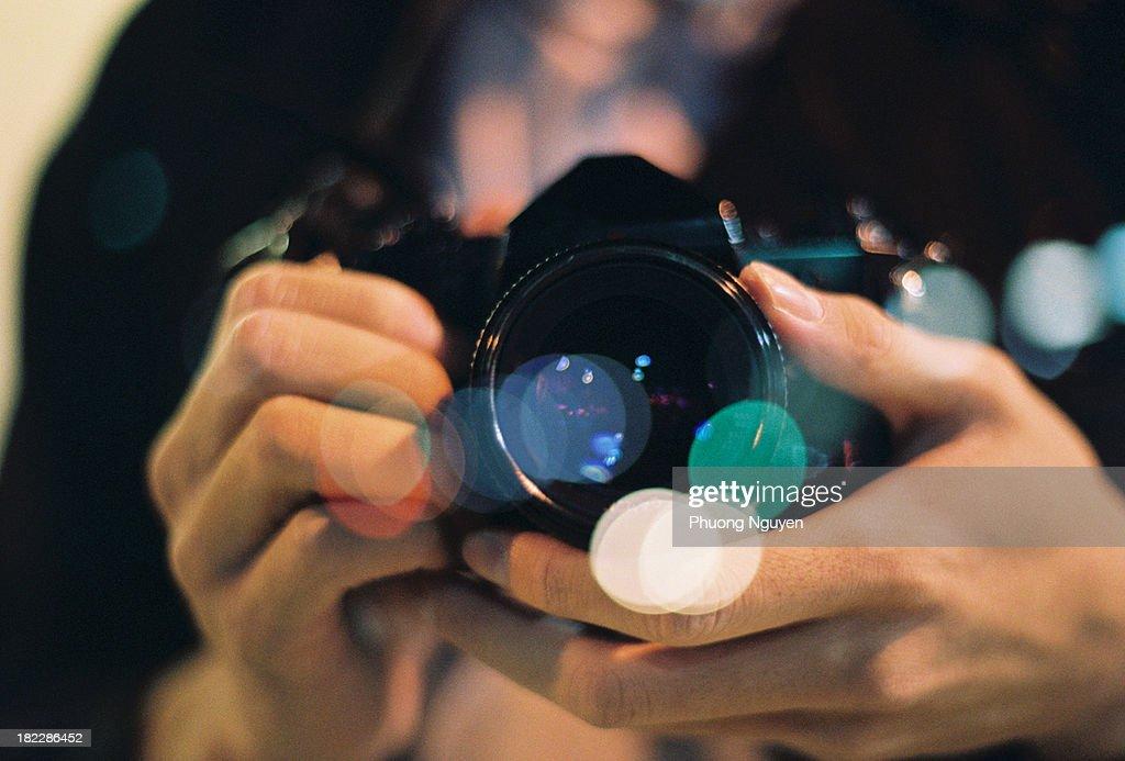 Camera Bokeh : Stock Photo