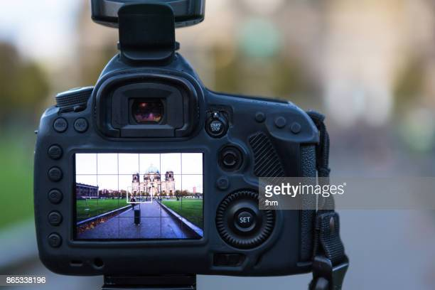 Camera display, showing Berlin cathedral (Berlin, Germany)