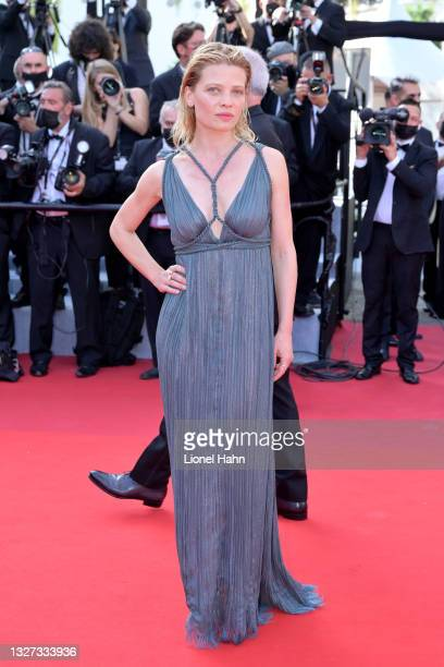 """Camera d'Or Jury President Mélanie Thierry attends the """"Annette"""" screening and opening ceremony during the 74th annual Cannes Film Festival on July..."""
