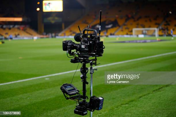 Camera during the Premier League match between Wolverhampton Wanderers and Tottenham Hotspur at Molineux on November 3 2018 in Wolverhampton United...