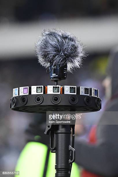 NFL 360 camera in the end zone during a National Football League game between the New York Giants and the Philadelphia Eagles on December 22 at...