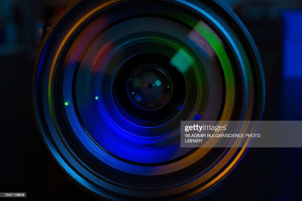 DSLR camera lens : Stock Photo