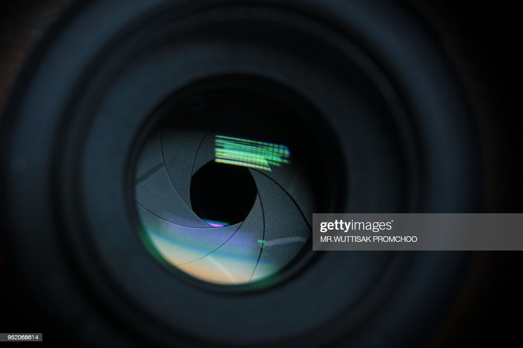 camera lens.digital camera lens close up. : Stock Photo