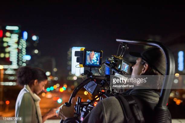 camera, lights, action! - film set stock pictures, royalty-free photos & images