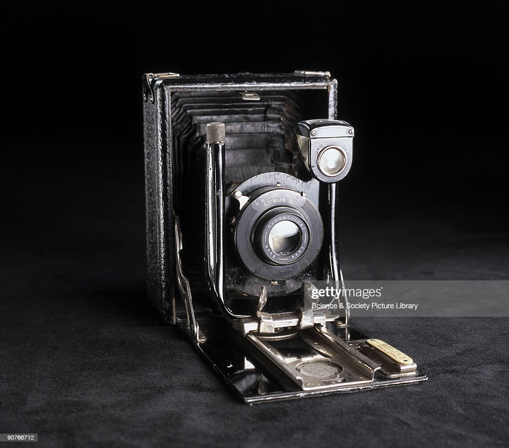 Camera manufactured by W Butcher & Sons, London, used for the 'second phase' of the 'Cottingley fairies' photographs taken between 1918 and 1920. In the Summer of 1917, 15 year-old Elsie 'Iris' Wright (1901-1988) and her 10 year-old cousin Frances 'Alice' Griffiths (1907-1986) claimed to have photographed fairies in a beck behind Elsie's home in Cottingley, near Bradford, Yorkshire. Although Elsie later admitted the photographs were fakes, Frances was more reticent. To her dying day she claimed that the girls had actually seen fairies, and that the final one of the five photographs taken was genuine.