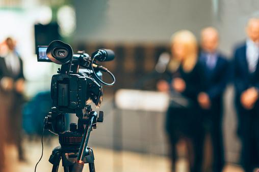 Camera media coverage 505694788