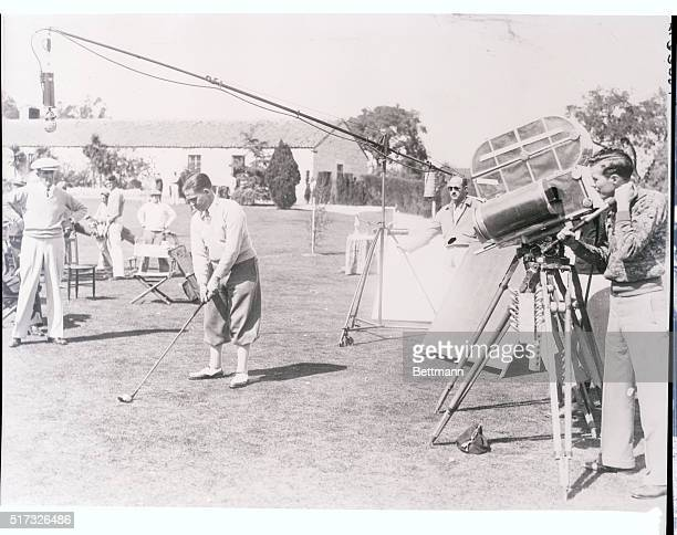 And the greatest golfer the world has known acts as teacher via the movie route Los Angeles Californiawith a sound receiver swung over head sun...