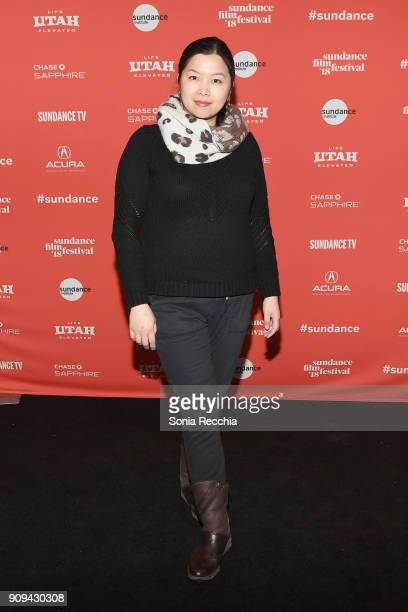 Camera operator Barbie Leung attends the 'Half The Picture' Premiere during the 2018 Sundance Film Festival at Prospector Square Theatre on January...