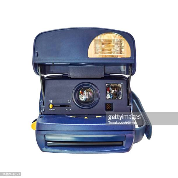 camera - black and white instant print stock pictures, royalty-free photos & images
