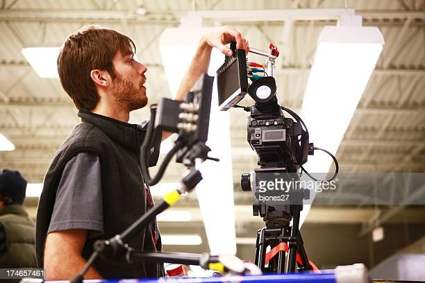 camera setup - cinematographer stock pictures, royalty-free photos & images