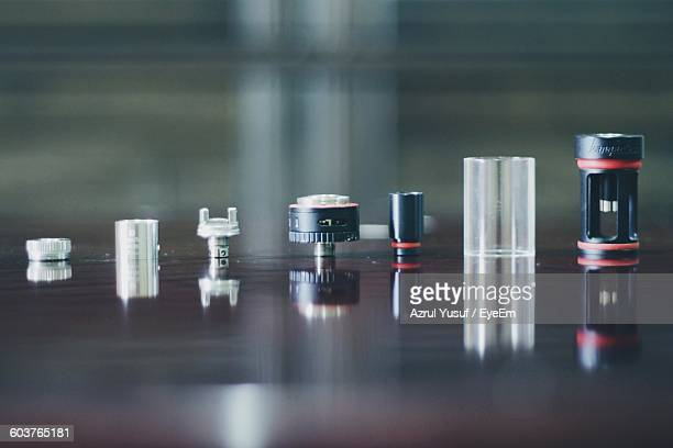 camera spare parts on table - spare part stock pictures, royalty-free photos & images