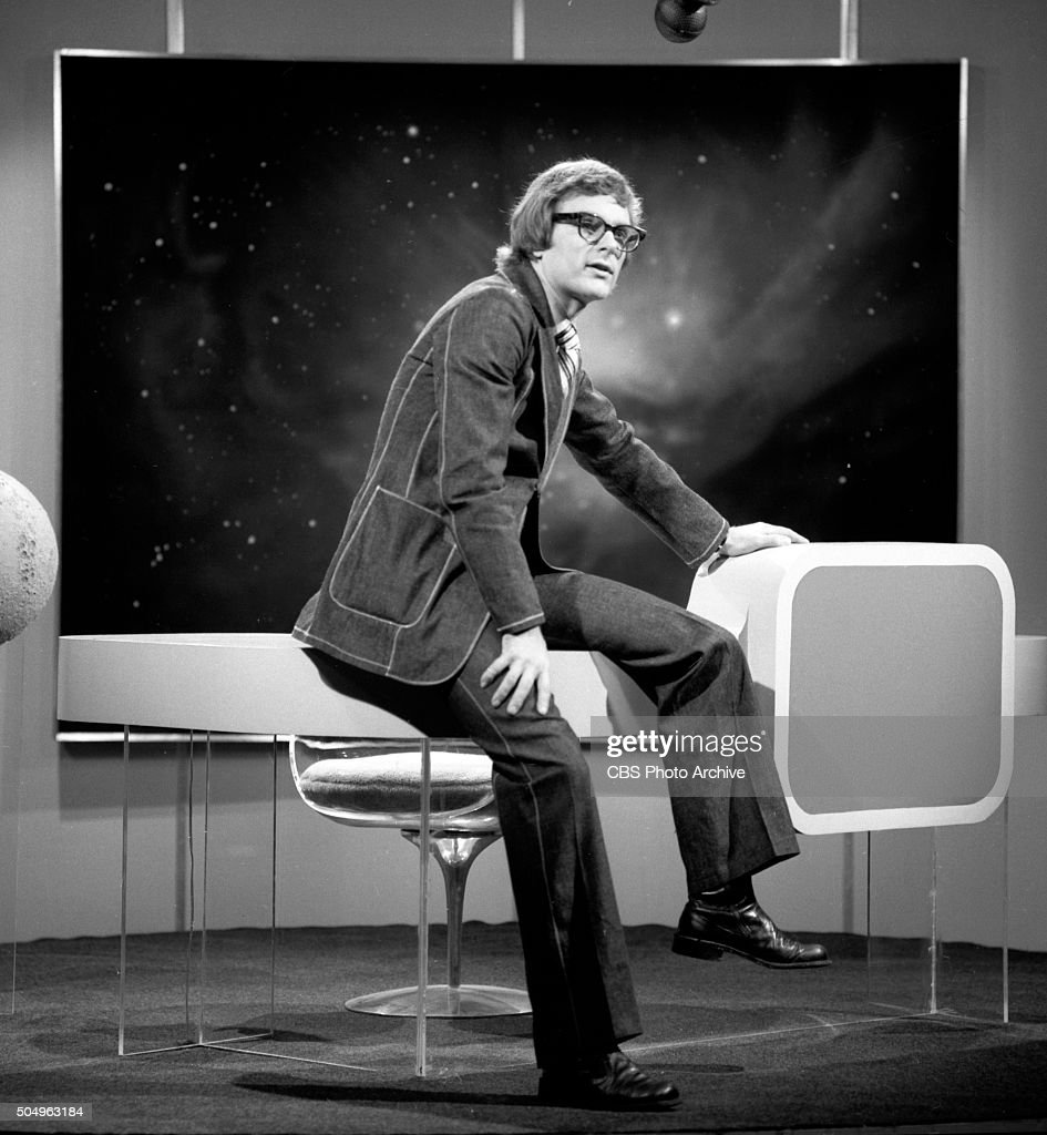 'Camera Three: A Primer for '2001: A Space Odyssey'.' It is hosted by Keir Dullea, the actor who portrayed astronaut David Bowman in the film: 2001: A Space Odyssey. New York, NY. Image dated October 29, 1971.