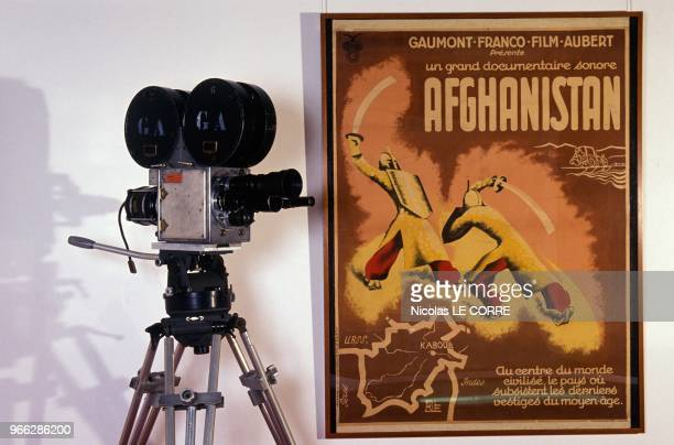 Camera With Claws Used By Gaumont From 1949 To 1960 At 100th Anniversary Of Gaumont Exhibition Paris February 27 1995