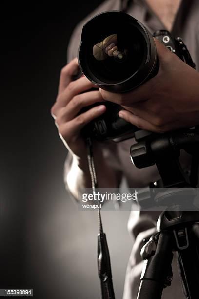 photographe professionnel, - photographe photos et images de collection