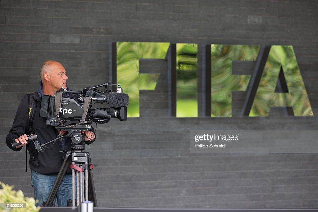 FIFA Press Conference : News Photo
