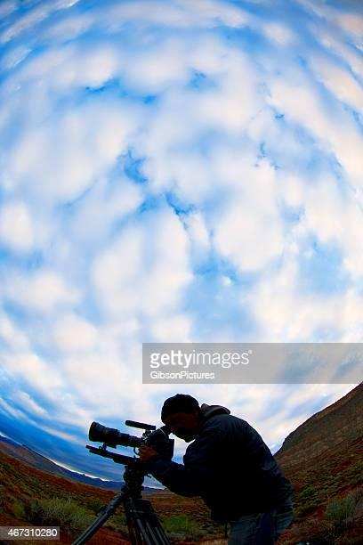 カメラマンの雲